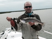 Mark Yost with a large May seatrout!