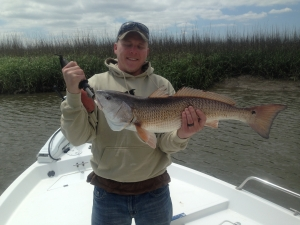 Josh Ledford with a large red!