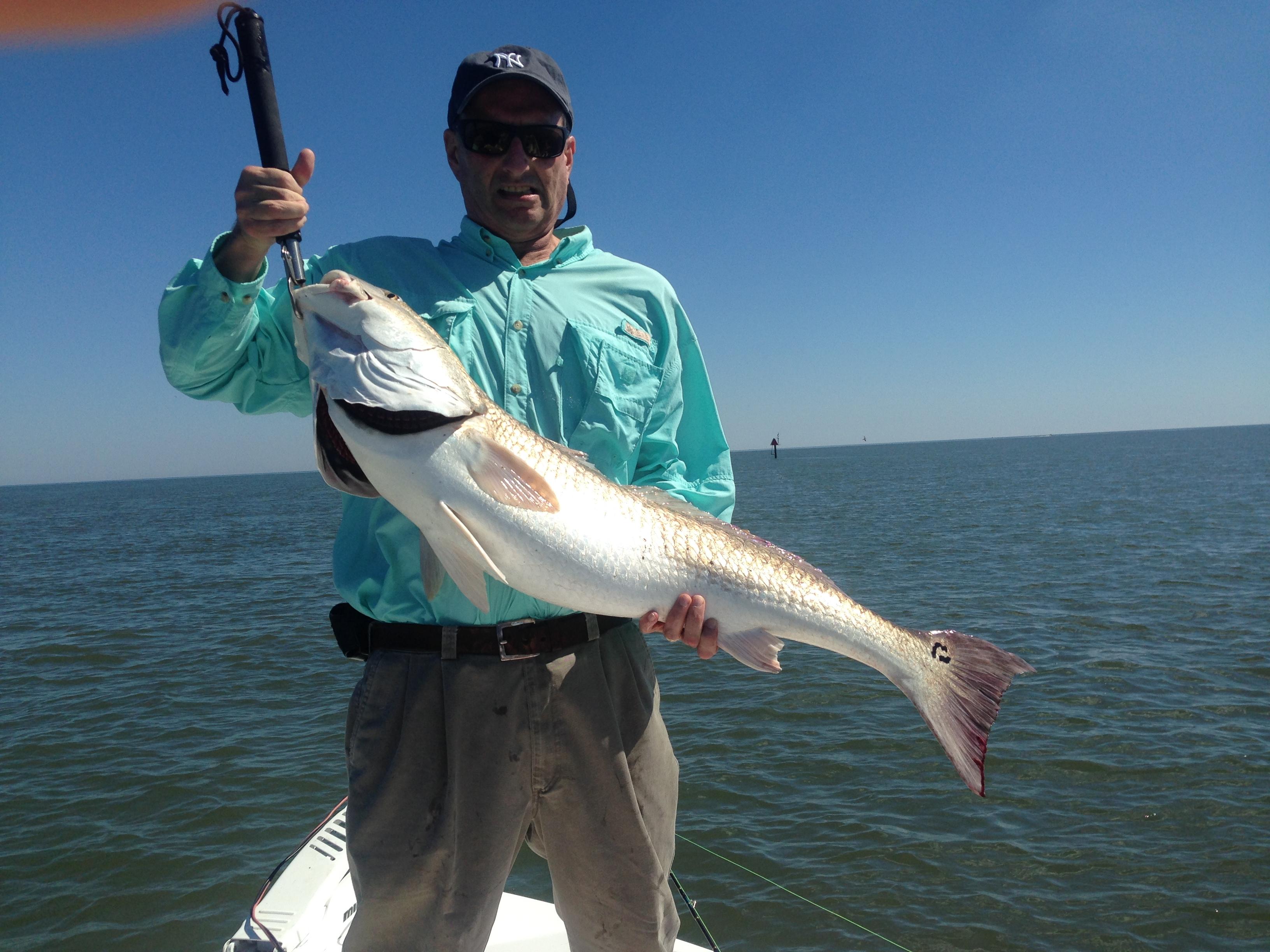 Steve Novack with Big Red