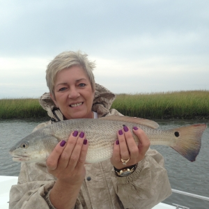 Tina Edwards with a nice red!